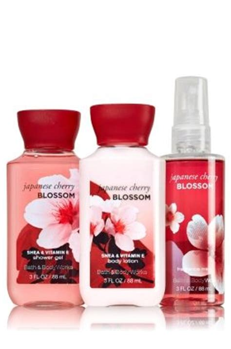 Bath And Works Japanese Cherry Blossom everyone s favorite japanese cherry blossom the all new daily trio to go signature collection