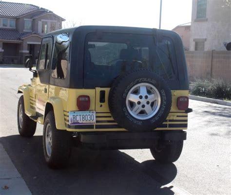jeep islander 4 door 1989 jeep wrangler islander sport utility 2 door 4 2l
