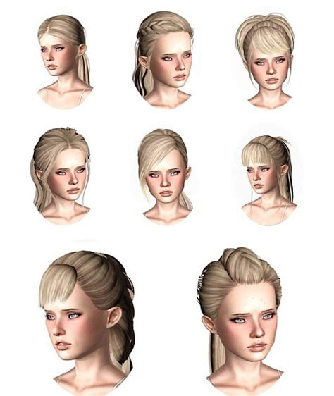 sims 3 custom content fringe hairstyle the sims 3 skysims hairstyles part 2 by wickedsims