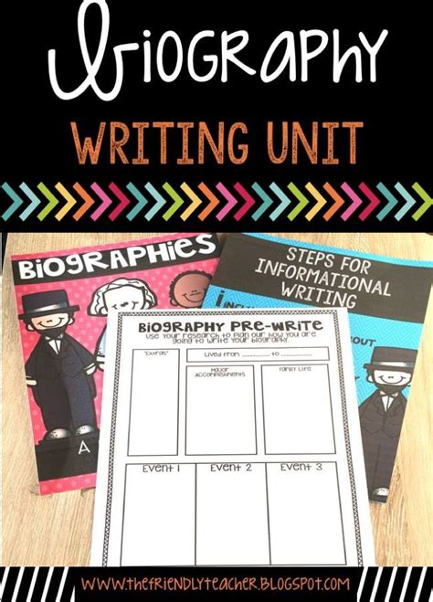 biography writing unit 17 best images about holidays in the classroom on