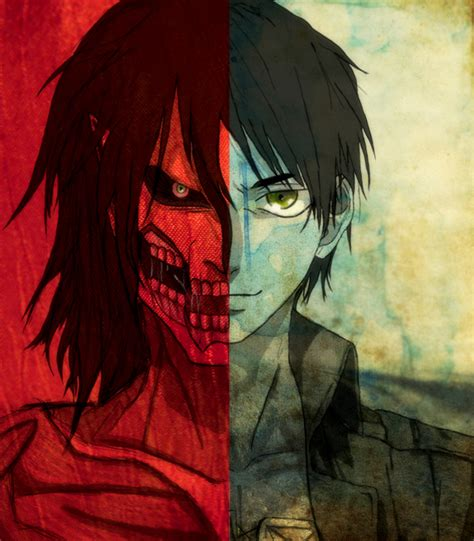 self eren from attack on titan titan form cosplay eren shingeki no kyojin by doubletroouble on deviantart