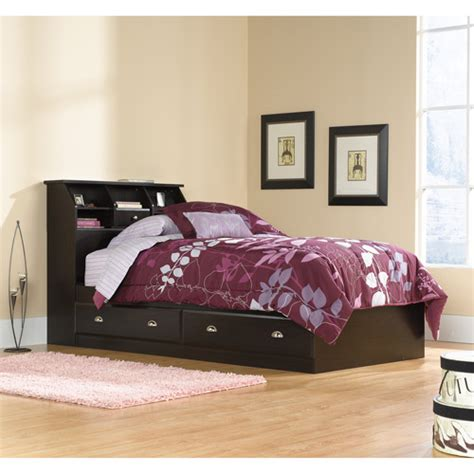 sauder shoal creek twin mates bed with headboard soft white sauder shoal creek twin mates bed with headboard jamocha