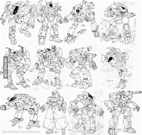 9gag Sketches by Robot Drawings