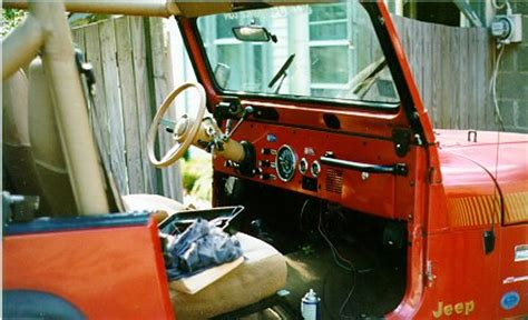 Jeep Yj Dash Swapping A Cj Dashboard Into A Yj Part 2 Road