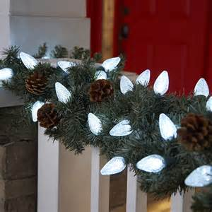outdoor garland with lights tips for hanging outdoor lights