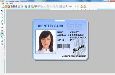 card creator page 49 of inventory barcoding software business