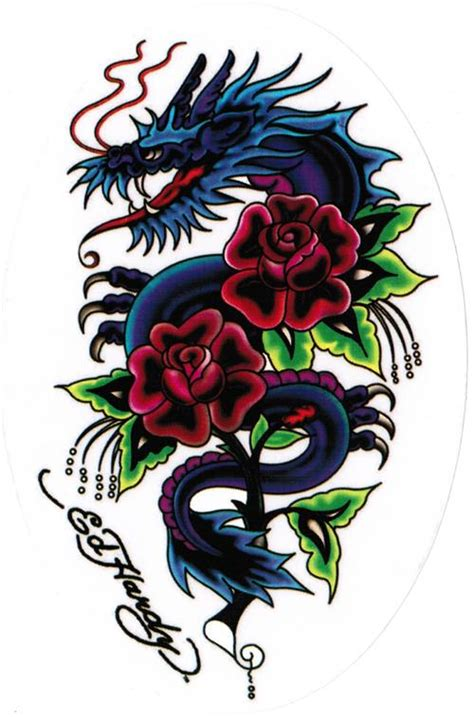 ed hardy rose tattoo ed hardy images search ed hardy