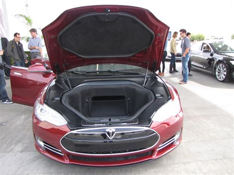 Inside Of A Tesla How Much Space Is There Inside A 2012 Tesla Model S Anyway