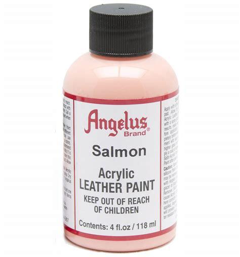 angelus paint website buy angelus leather paint 4 oz salmon