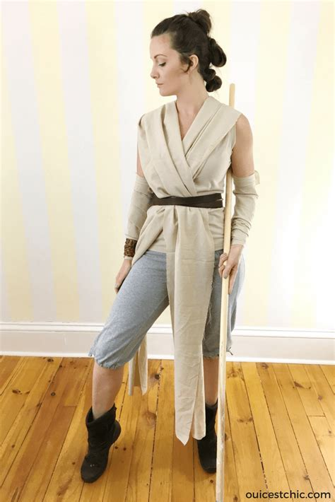 tutorial jedi costume diy rey halloween costume star wars hair tutorial