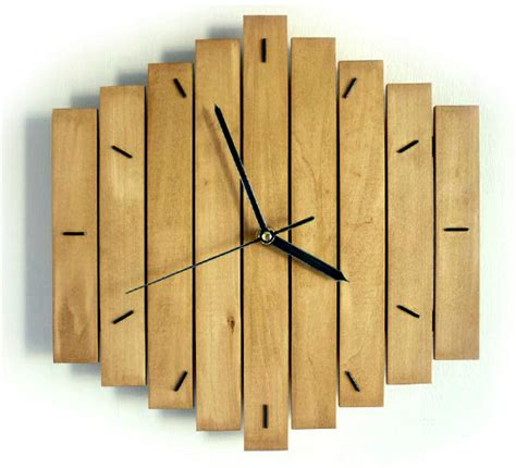wood clock designs 20 clocks decor trends to be always on time interior