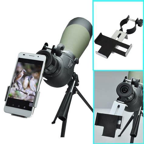 Smartphone Holder Untuk Teropong Binocular Monocular Telescope 38mm 50mm compatible with binoculars monocular spotting spotting scopes telescopes adapter