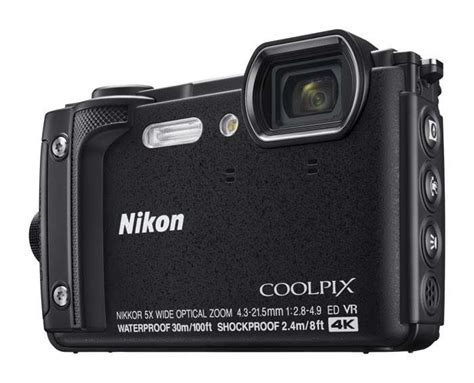 nikon coolpix w300 rugged compact announced geeky gadgets
