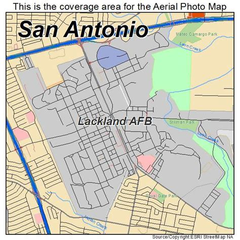 lackland texas map aerial photography map of lackland afb tx texas