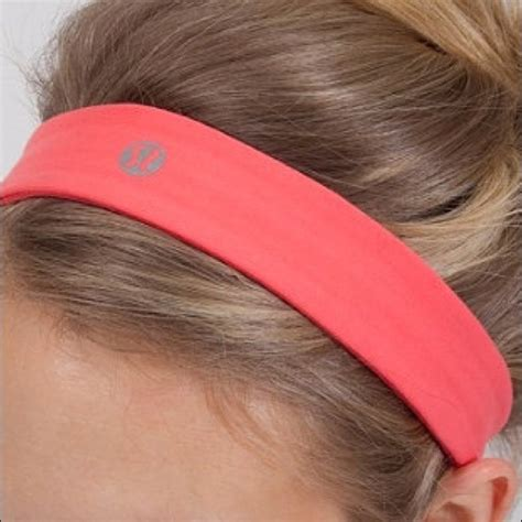 lululemon patterned headbands lululemon athletica coral lululemon headband from