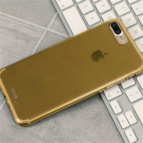 olixar flexishield iphone 8 plus 7 plus gel gold