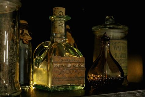 plants potions and oils for horses books creating the potions setup harry potter hogwarts dinner