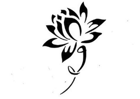 lotus tattoo designs black and white incre 237 bles dise 241 os de tatuajes de la sagrada flor de loto