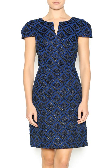 Dress Jacquard Gown 9 4 collective jacquard dress from paul by s shoptiques