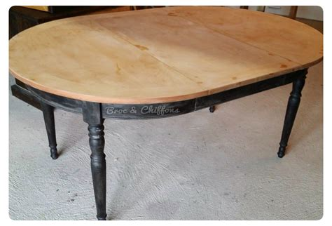 Relooker Une Table Ronde by Relooker Une Table En Merisier