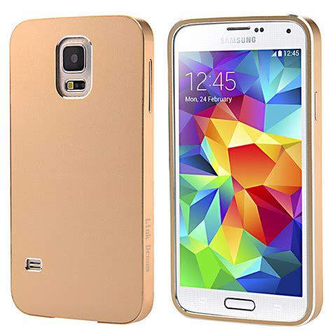 Galaxy S5 Premium Casing Cover Bumper Sarung Armor Murah aluminum metal bumper with back cover for sumsang galaxy s5 i9600