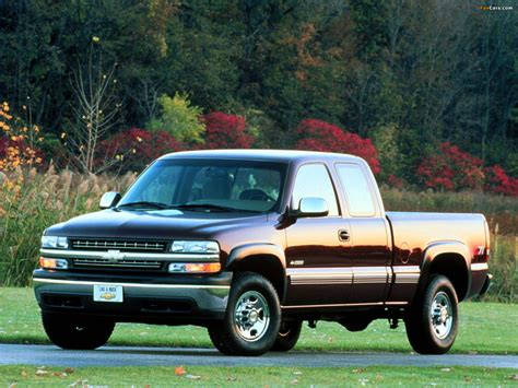 wallpapers of chevrolet silverado z71 extended cab 1999 2002 1600x1200