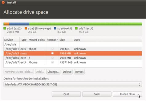 guide for ubuntu manual disk partitioning guide for ubuntu 11 04 zephyr9000