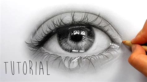 realistic eye realistic eye from realistic eye drawing tutorial tutorial how to draw