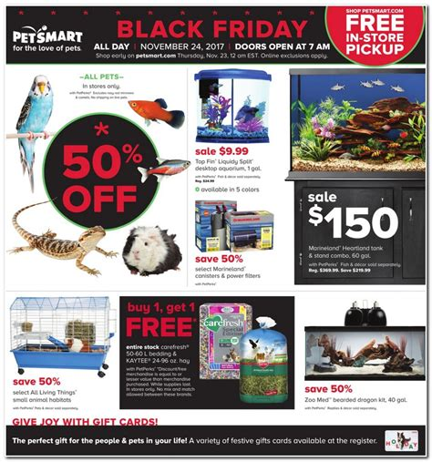 Petsmart E Gift Card - black friday ad scans bing images
