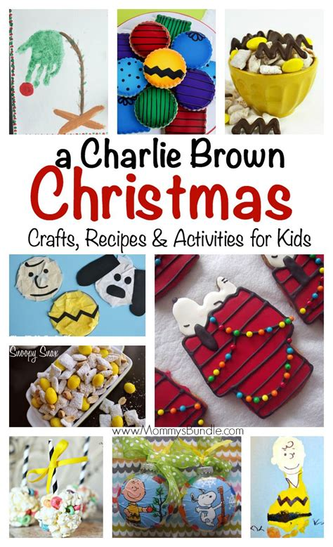 charlie brown christmas 24 crafts recipes activities
