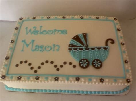 Baby Shower Sheet Cakes For Boy by 286 Best Images About Cakes Baby Shower Cakes On