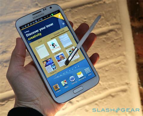 Samsung Note 2 samsung galaxy note ii review slashgear