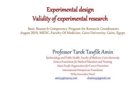 experiment design confounding bias and confounding