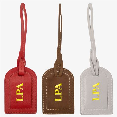 printable mini luggage tags leather gifts custom leather mini luggage tags buy now