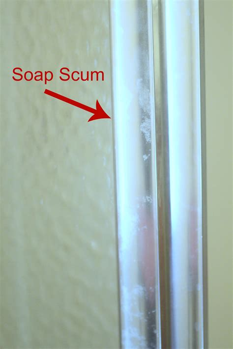 Removing Soap Scum From Shower Doors Soap Scum Shower Door Use Dryer Sheets To Clean Soap Scum Shower Doors 171 Housekeeping How