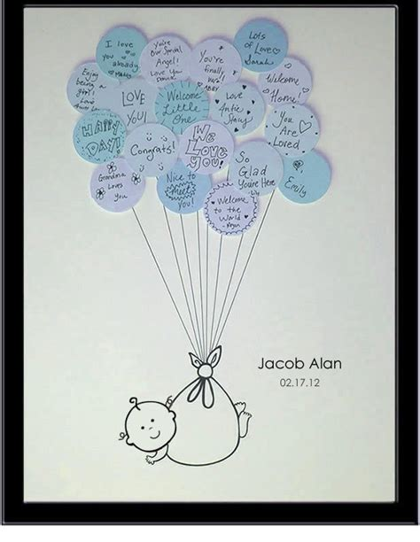 Baby Shower Guestbook by Baby Shower Guest Book Baby Shower Ideas