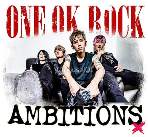 Raglan Ambitions One Ok Rock quot one ok rock ambitions album quot posters by carousel01 redbubble