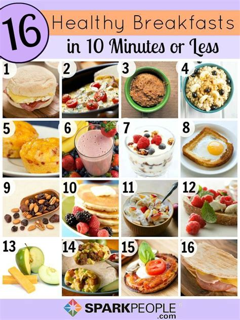 6 healthy breakfast tips for quick and healthy breakfast ideas healthy breakfasts food and recipes