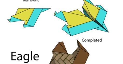 How To Make A Eagle Paper Airplane - paper airplane eagle paper planes
