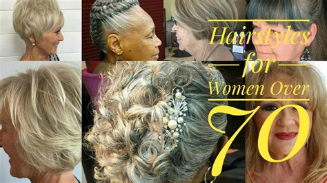 best hairstyles for women over 70 youtube