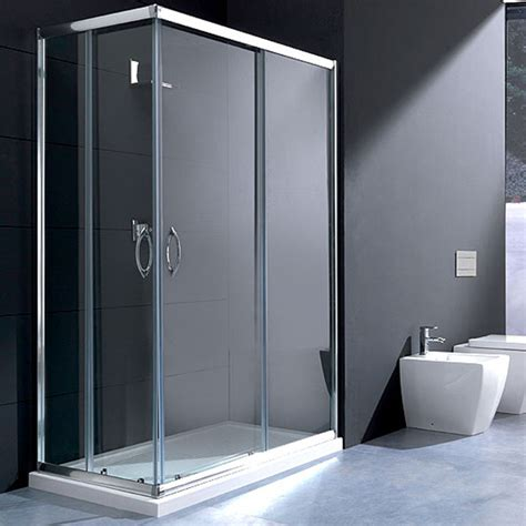 box doccia in cristallo prezzi box doccia rettangolare 80x120 in cristallo da 6 mm