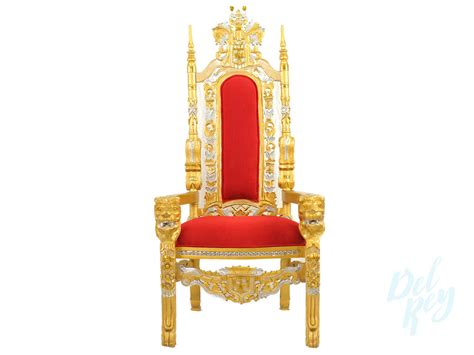 stuhl gold gold throne chair throne chair rentals king chair