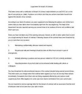Legal Letter Template 12 Free Word Pdf Documents