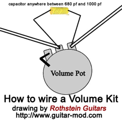 treble bleed without resistor rothstein guitars serious tone for the serious player