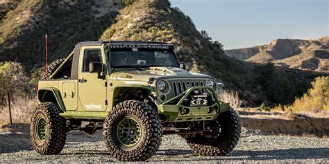 jeep track green iguana wrangler truck