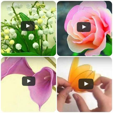 fiori di calza 25 best ideas about fare fiori su fiori di