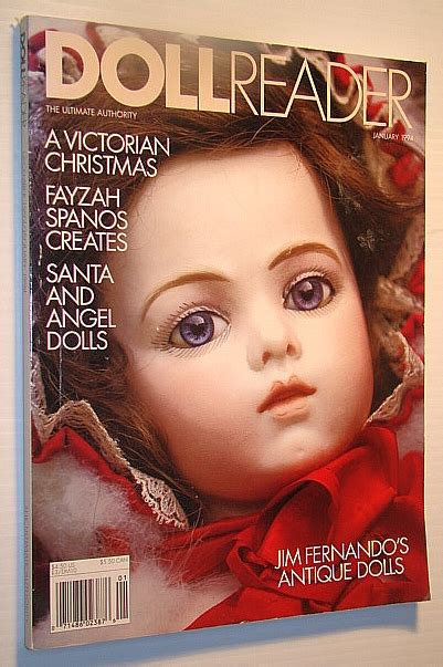 the doll reader doll reader magazine january 1994 jim fernando s antique