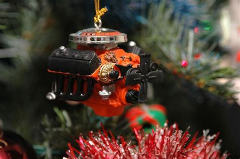 hemi christmas ornament engines memorabilia oddities