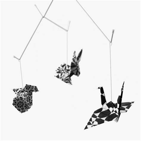 Black And White Origami Paper - 17 best images about mobile ideas on origami