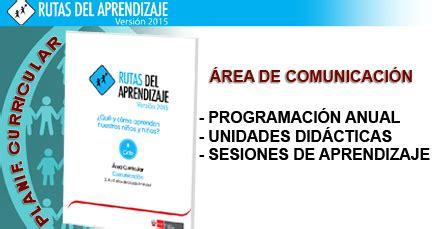 programacion de cta con rutas del aprendizaje 2014 home programaciones de comunicaci 243 n con las rutas de